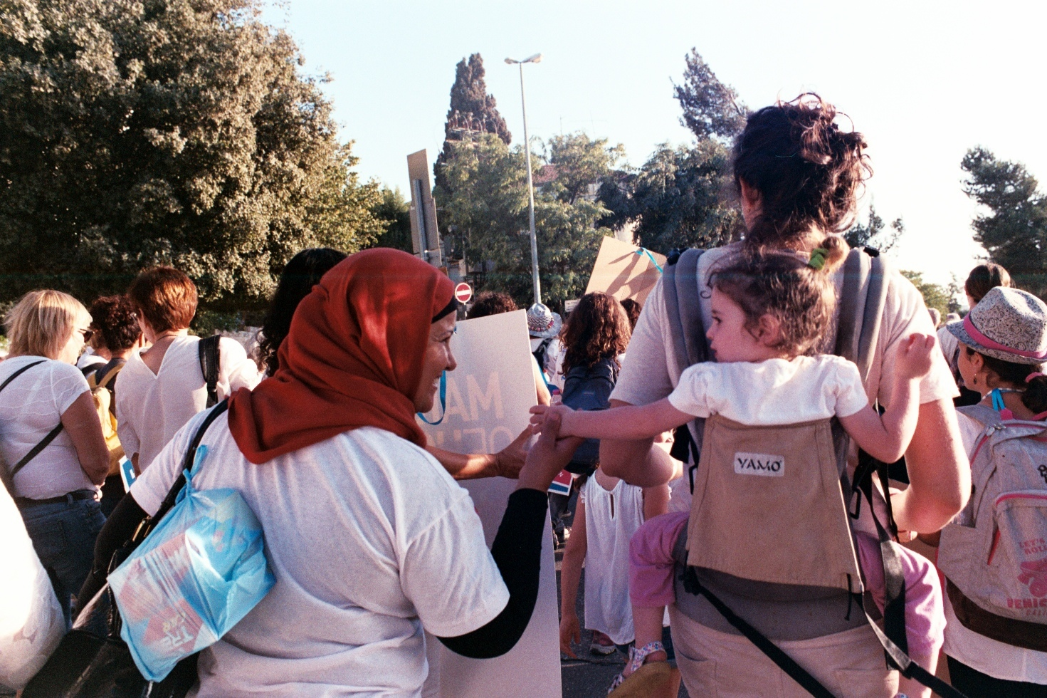 Women Wage Peace, March of Hope, Jerusalem, October 2016.