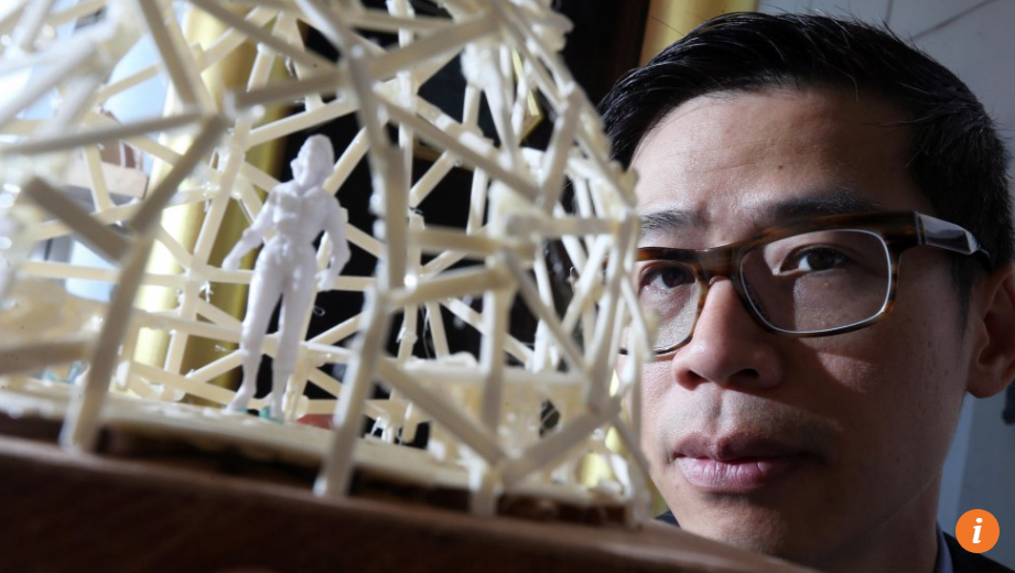 Oct/1/2015 SCMP  Hong Kong artist Kacey Wong offers Europe a creative solution to its refugee crisis