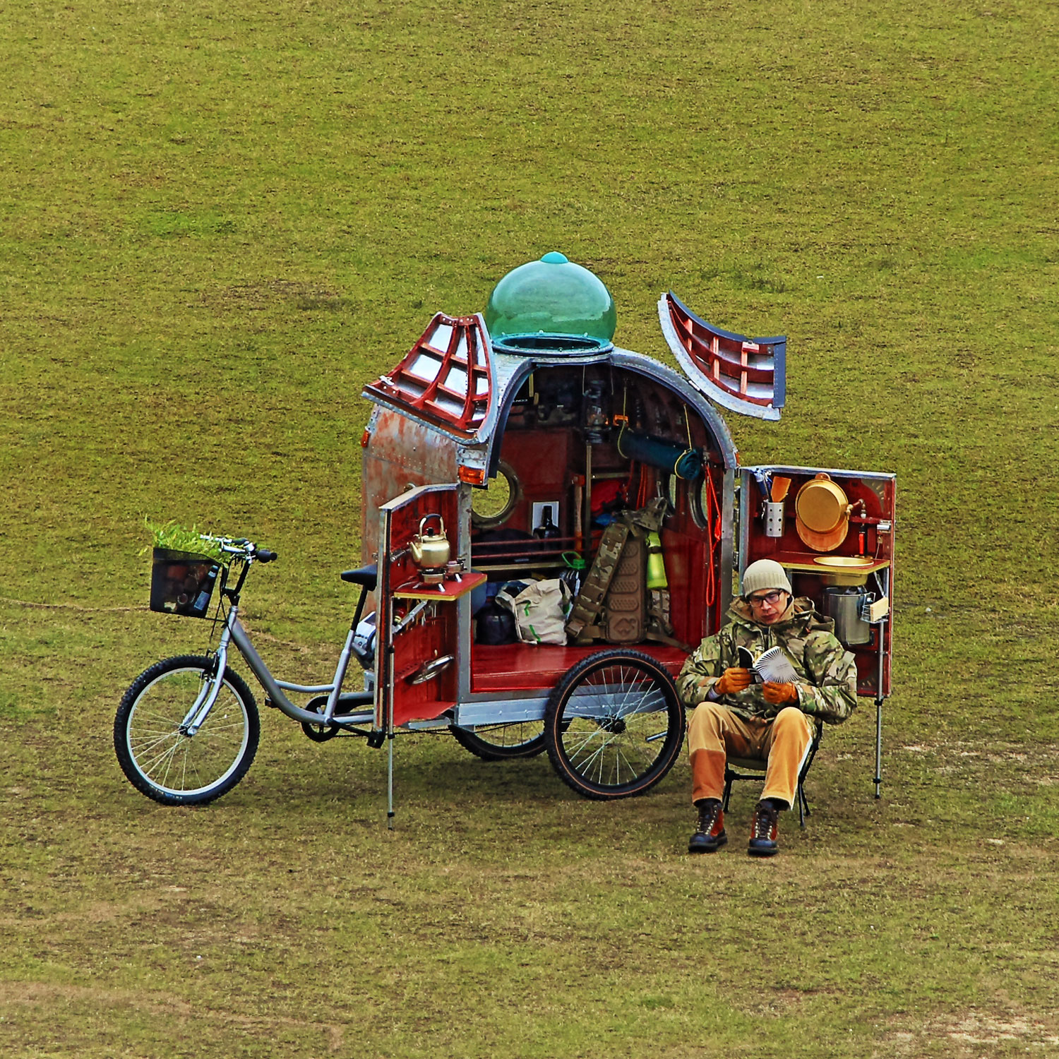 Wandering Space (Camper Bike) 流浪太空號 (露營車)