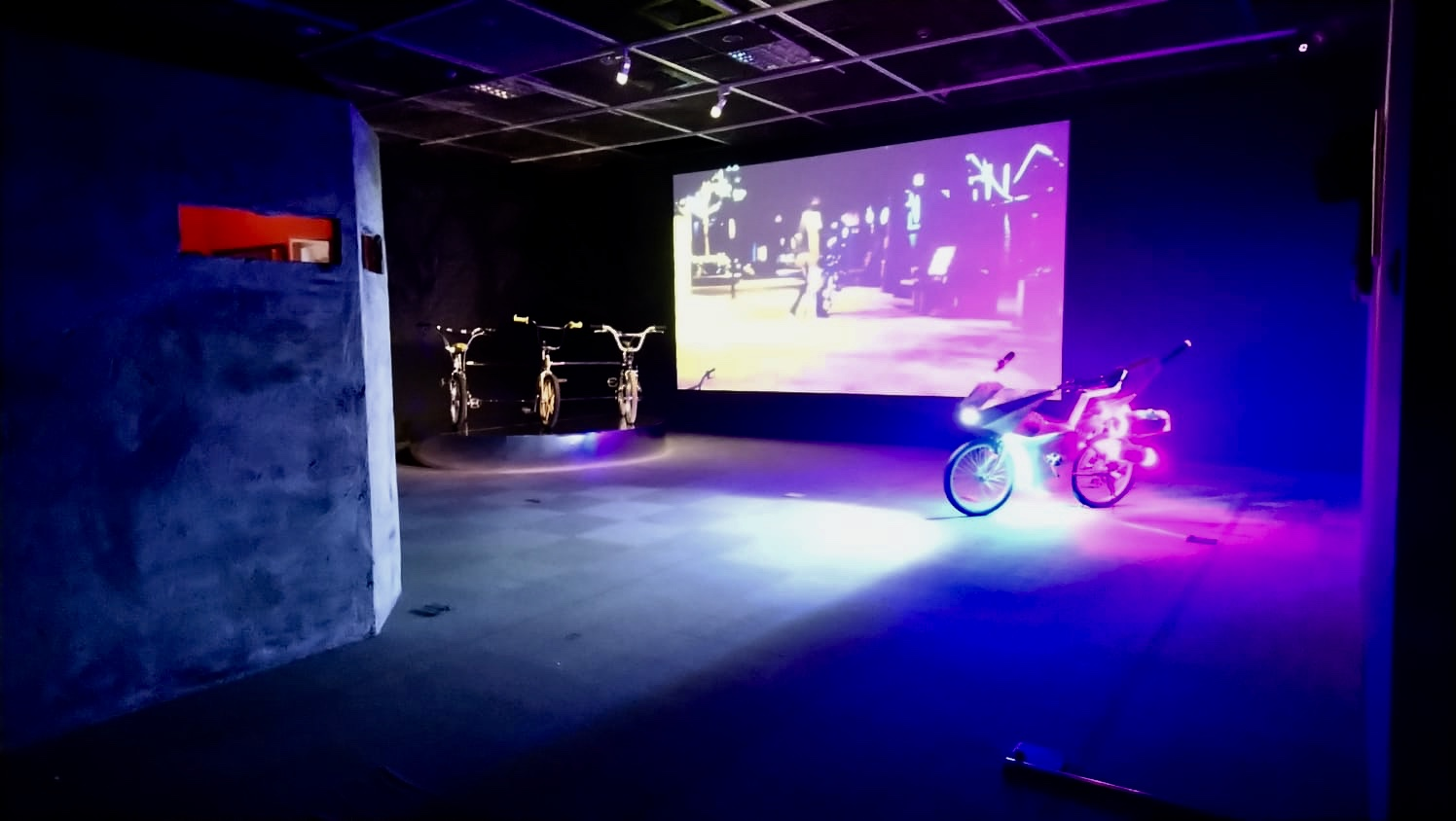 [July/20 - Oct/13/2019] One Upon a Time  Currently exhibiting a group of bicycle creations at the Taipei MOCA in Taiwan, two of the bikes were created specifically for this show. Also had a fantastic time shooting the Bullet No. 4 video near the museum at night. The opening was fantastic, what a show.