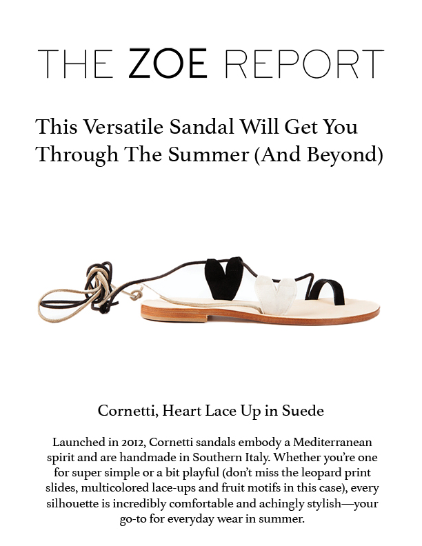 THE ZOE REPORT / July 2018