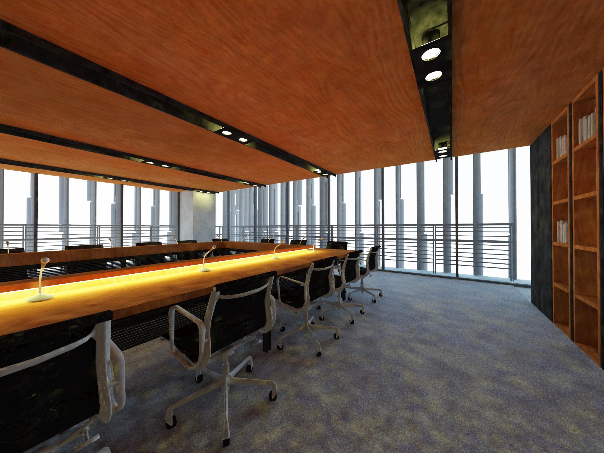 人文館西側三樓哲學系會議室及辦公室