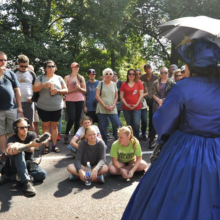 Photo courtesy of Jennifer Perkins @fuzzy_baby_monsters from our event Consolations of Memory at Bellefontaine Cemetery