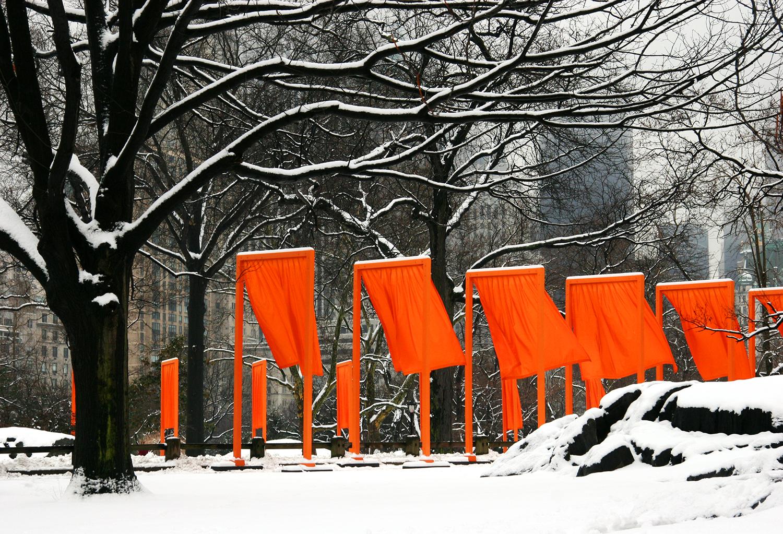 'The Gates,' Central Park, New York