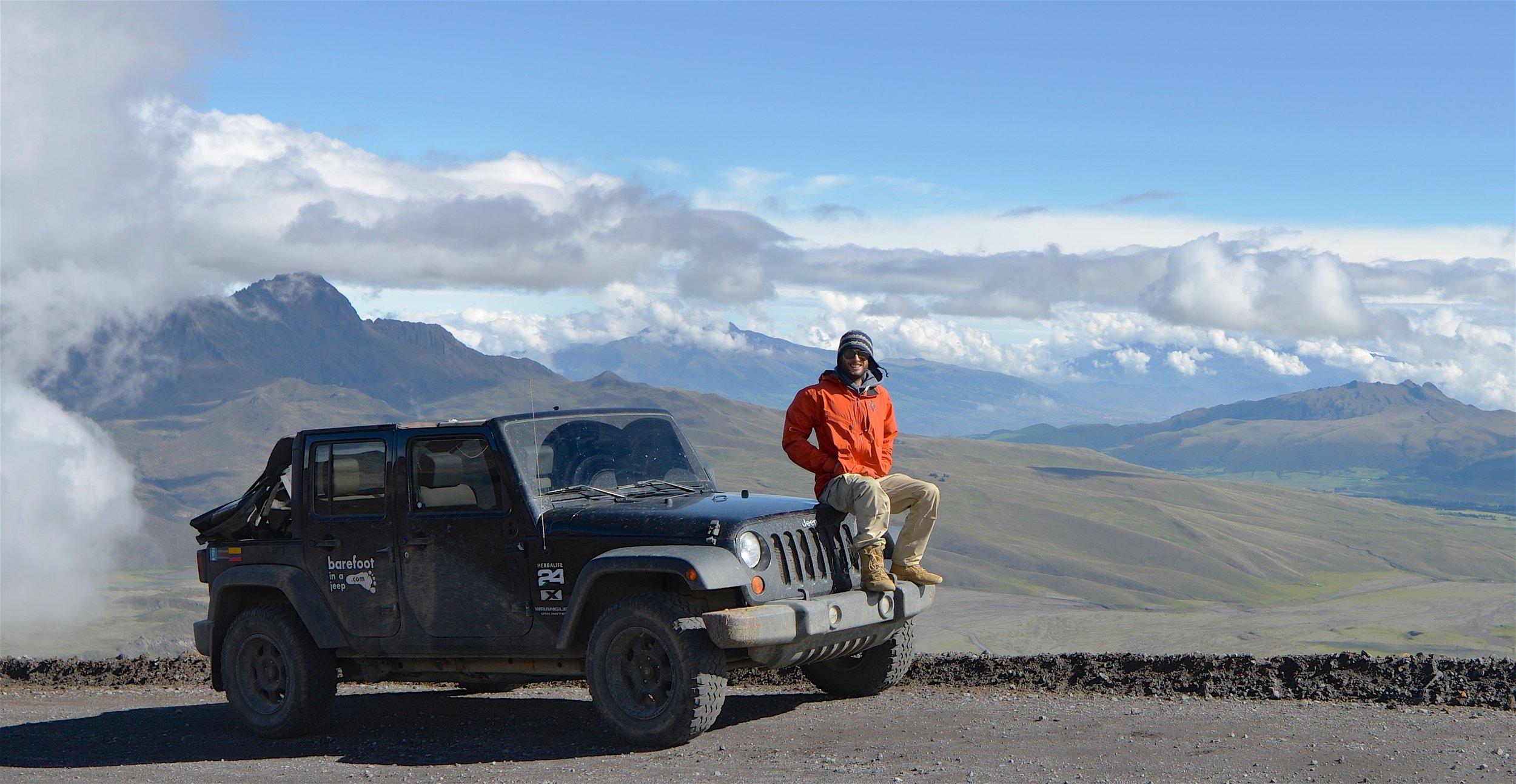 On Cotopaxi ! Second highest volcano in Ecuador