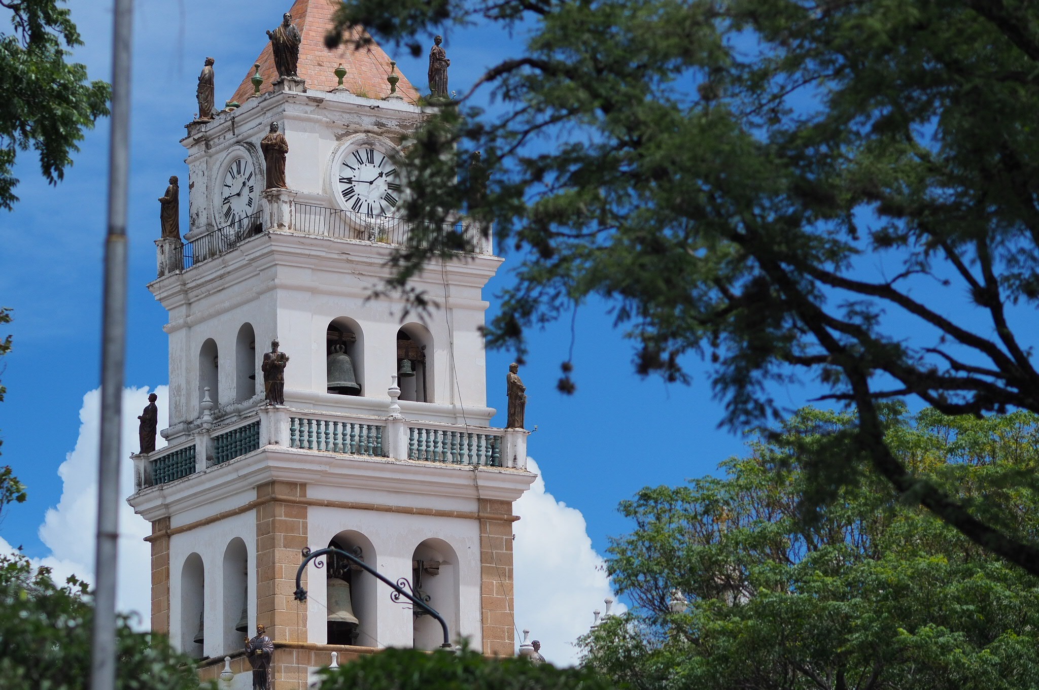 Sucre, Bolivia. By far the prettiest town in Bolivia!