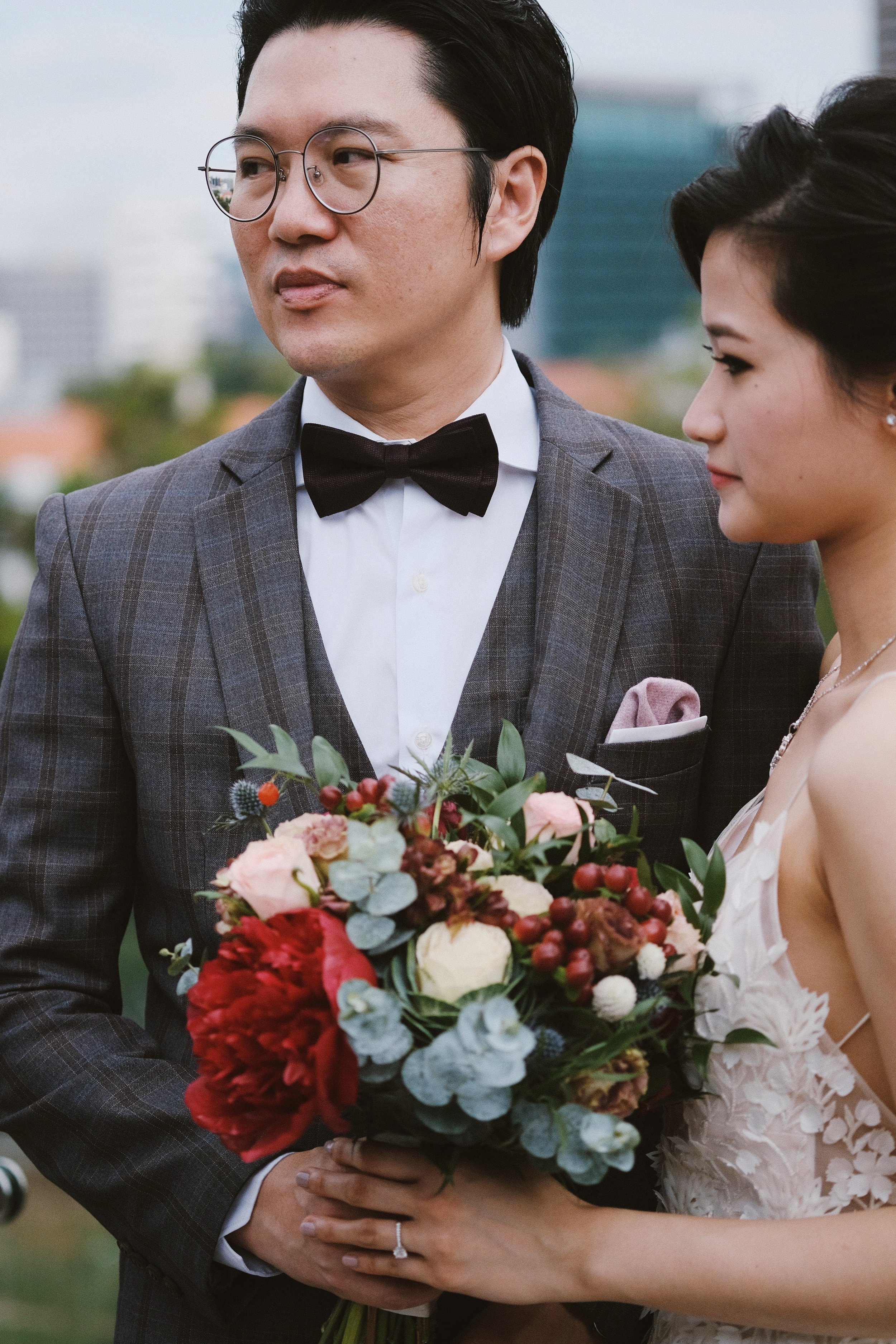 60mm f/2.4 macro XF at a wedding. Shot wide open