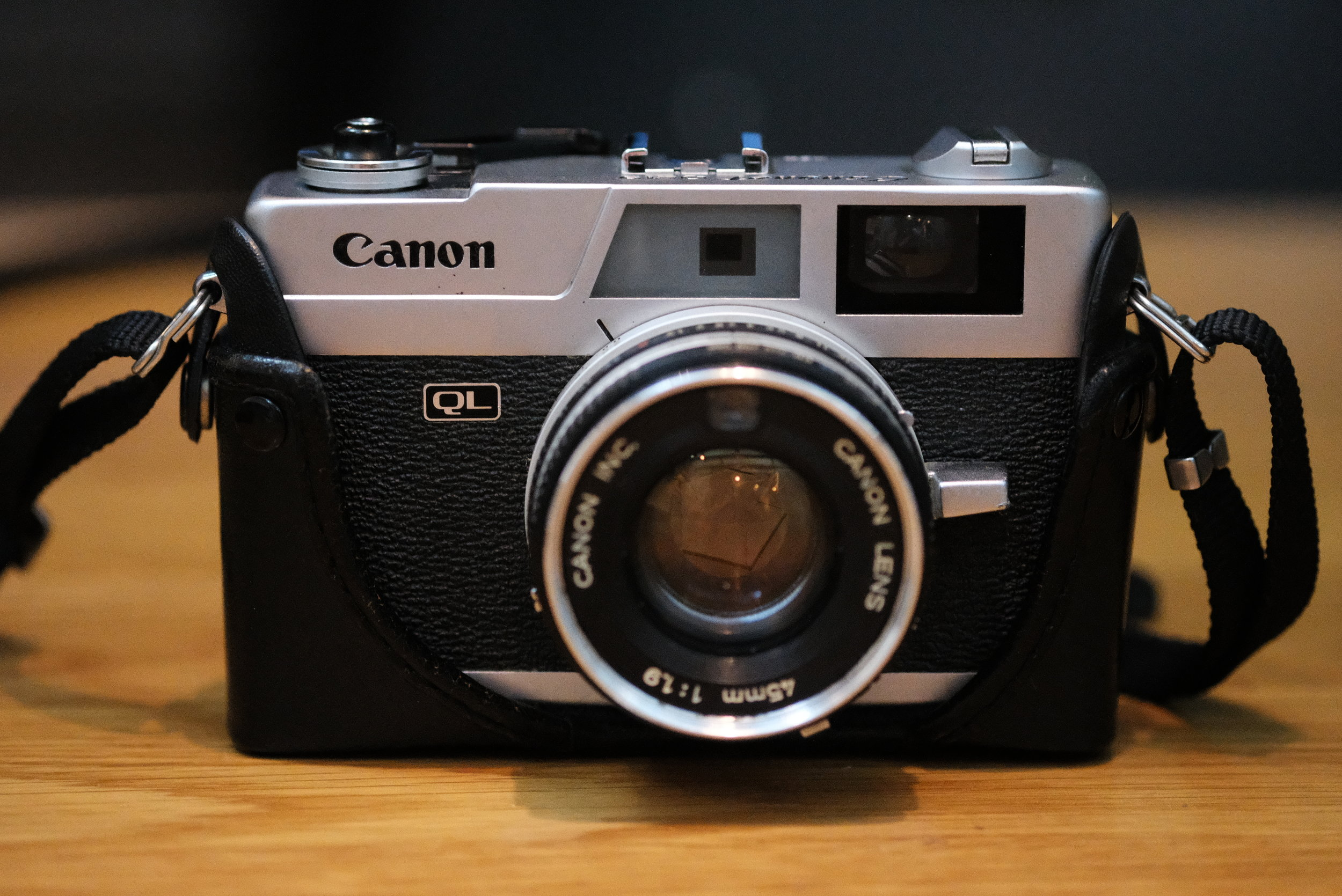 Canon QL19, taken by the Fuji X-Pro2 with the 60mm f/2.4 macro