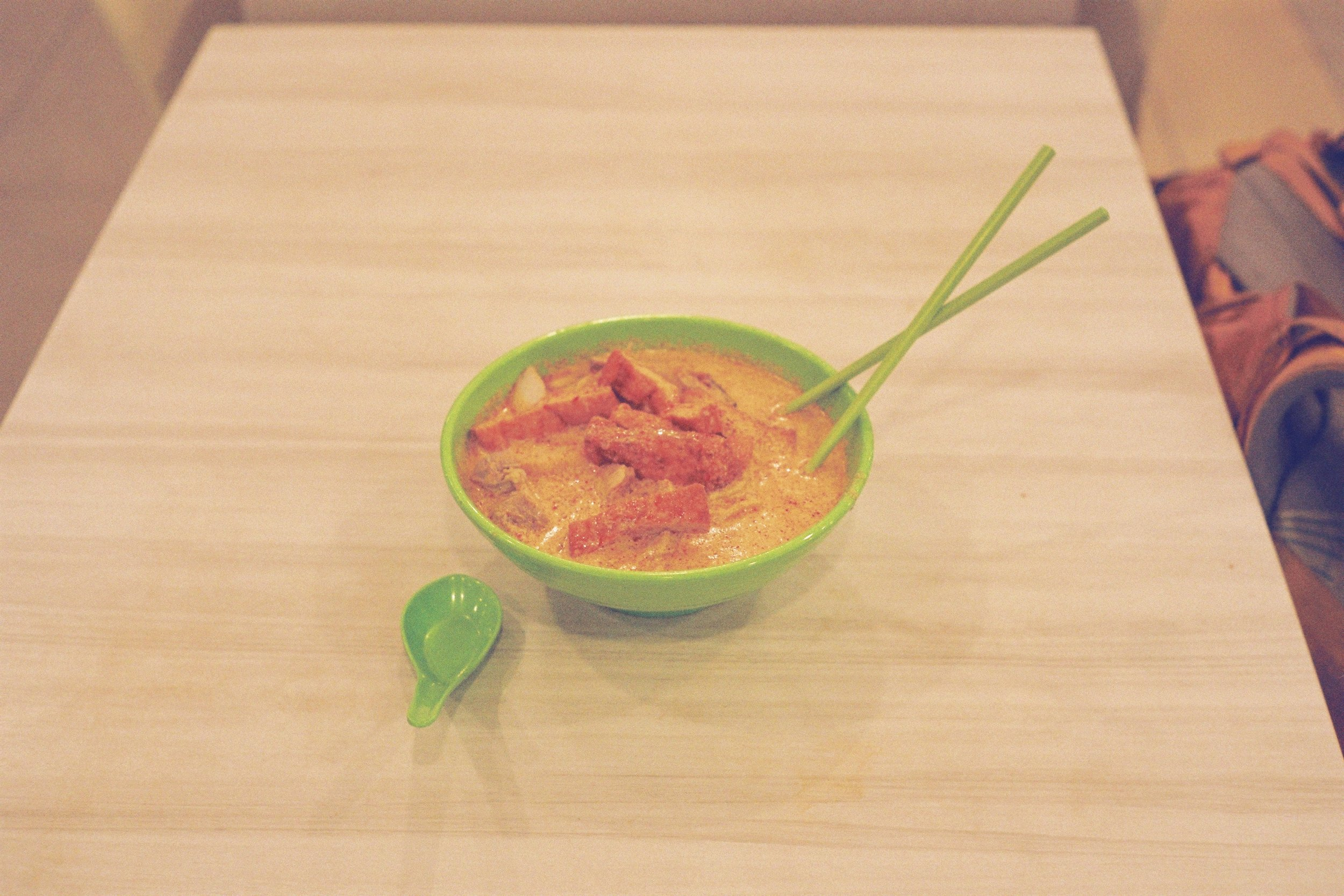 Chicken tofu curry