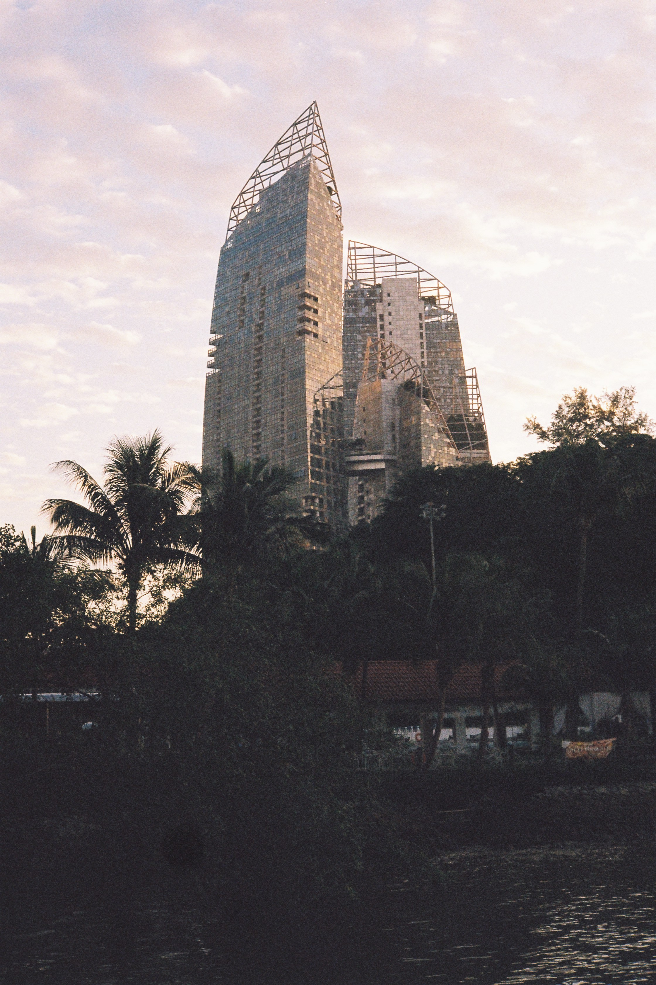 Singapore in the morning.