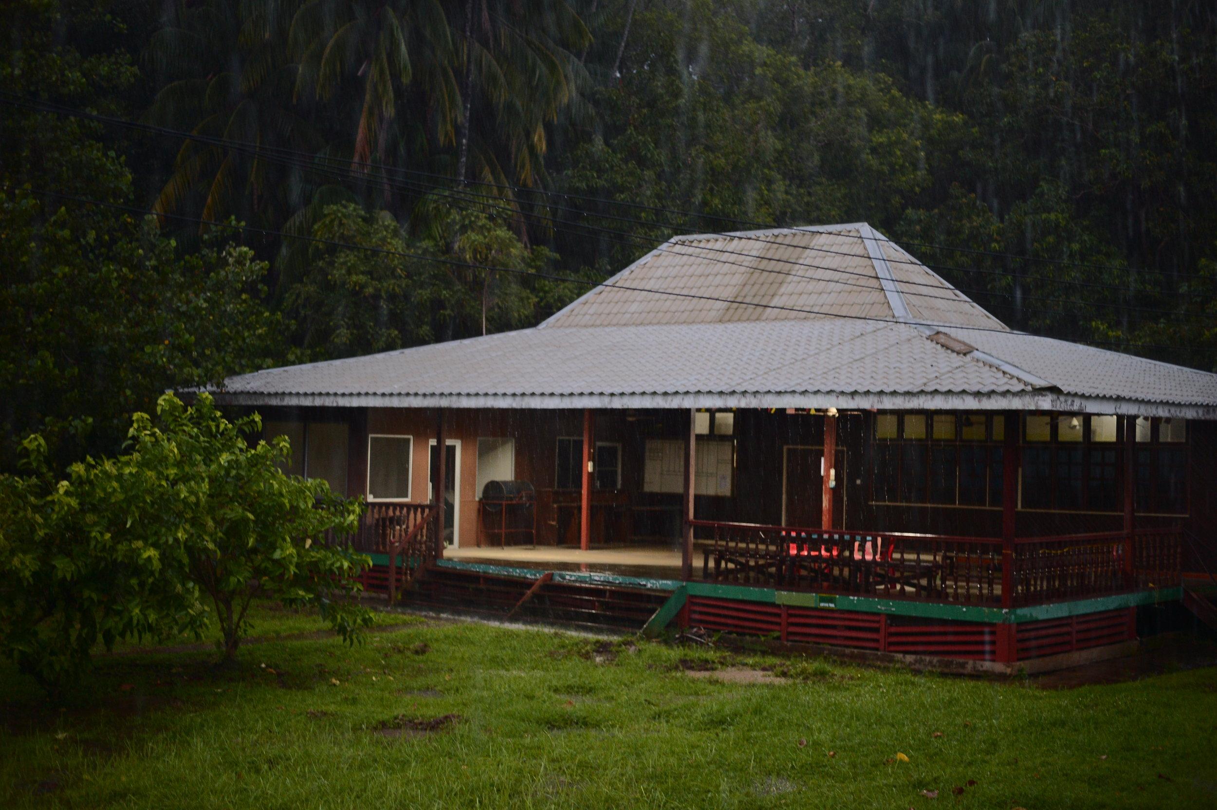 Our shack on Borneo island, Malaysia.