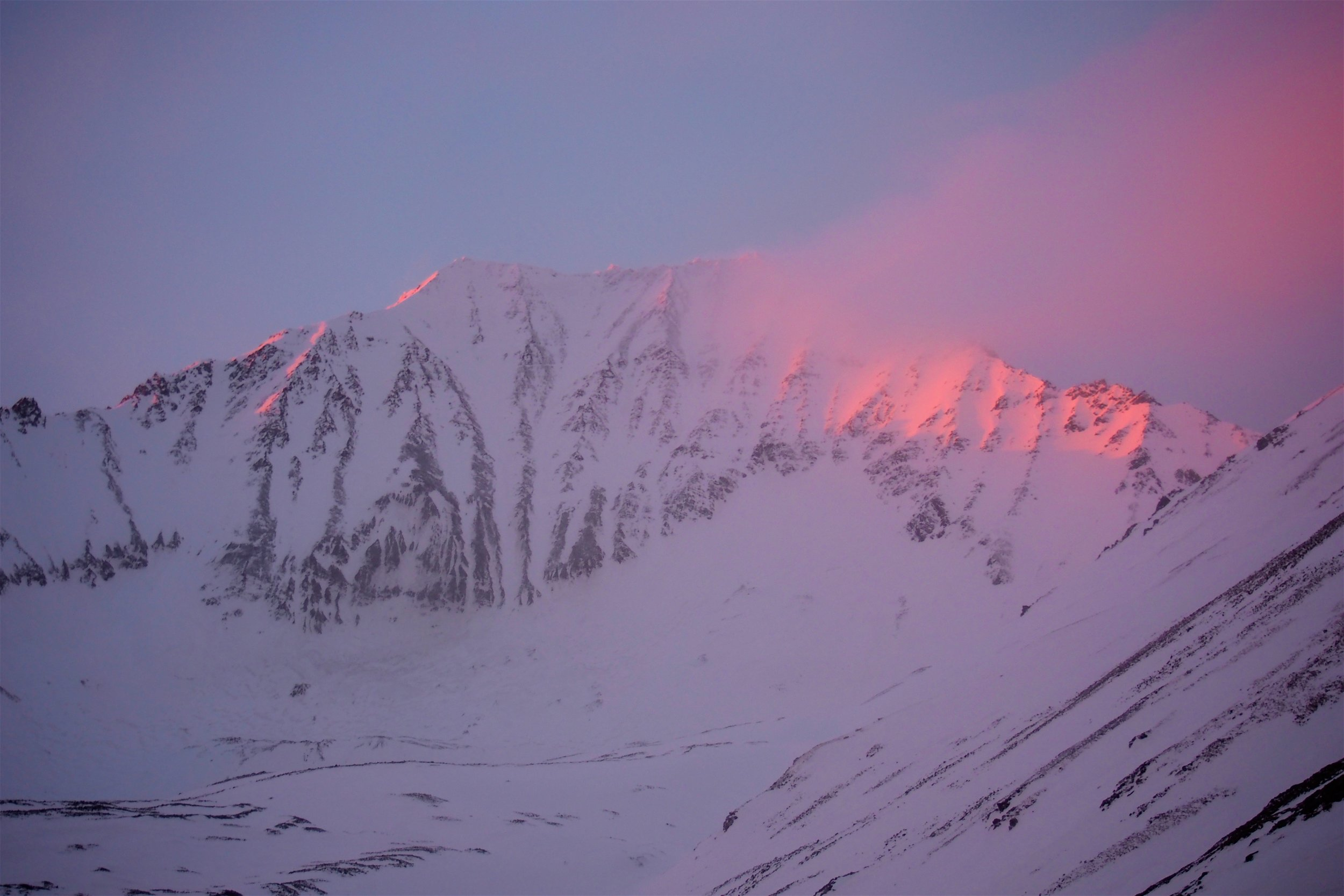 Good life decision = Mountaineering in the Yukon Territory.