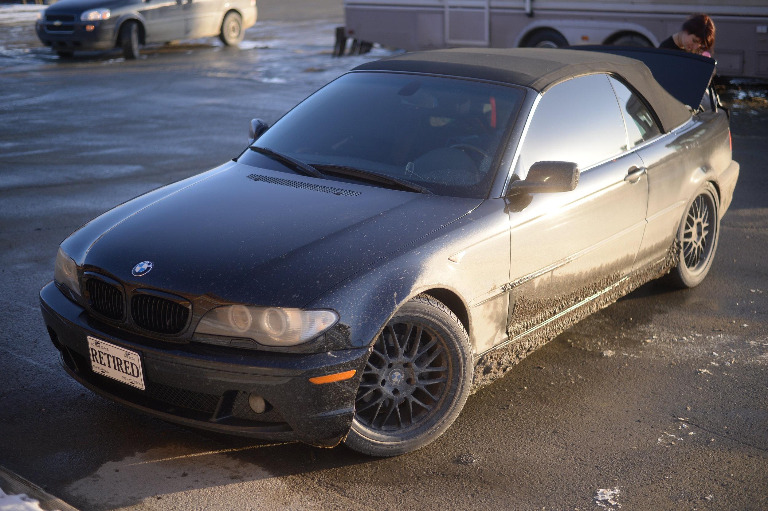 Day six: The car needs a car wash ASAP.