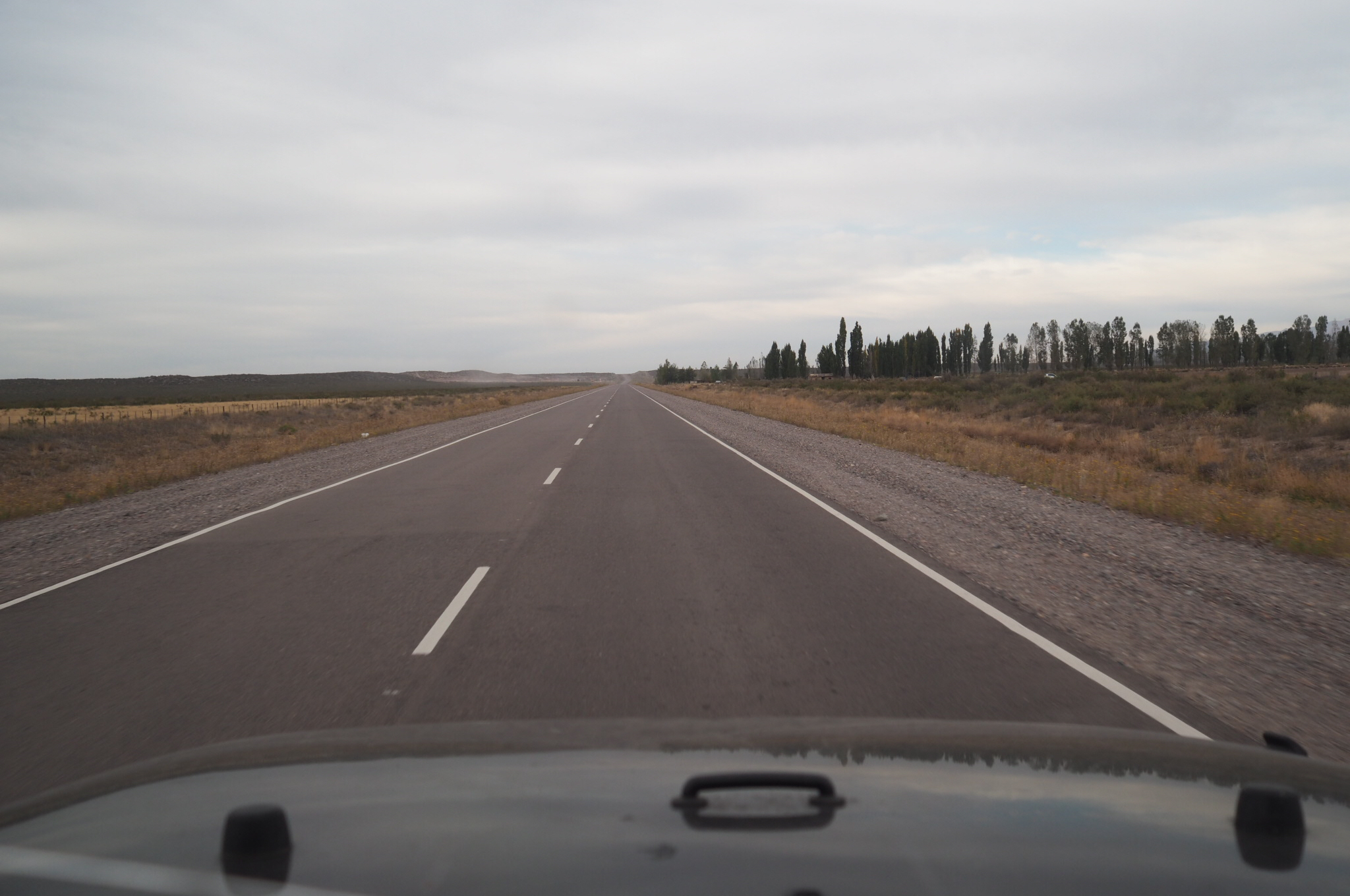 View of the highway in…I forgot. Argentina maybe?