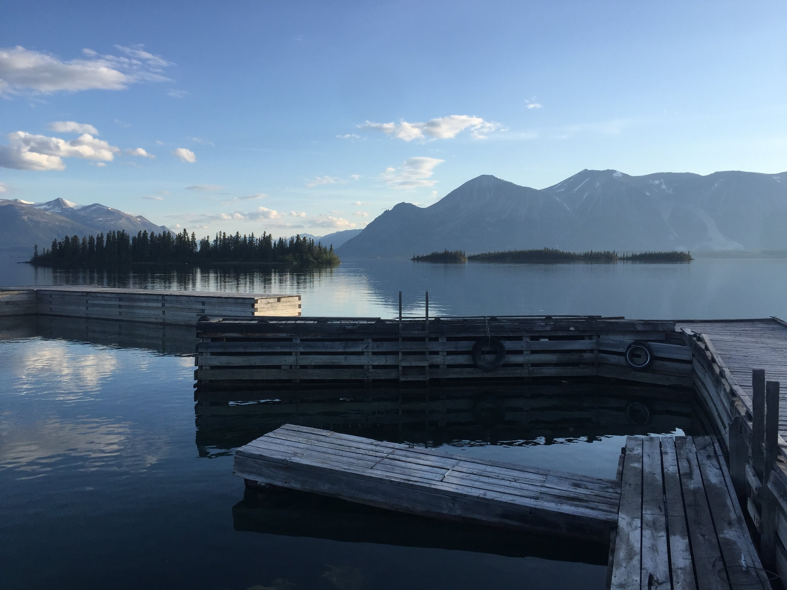 Atlin, British Columbia. This is the most beautiful place on Earth.