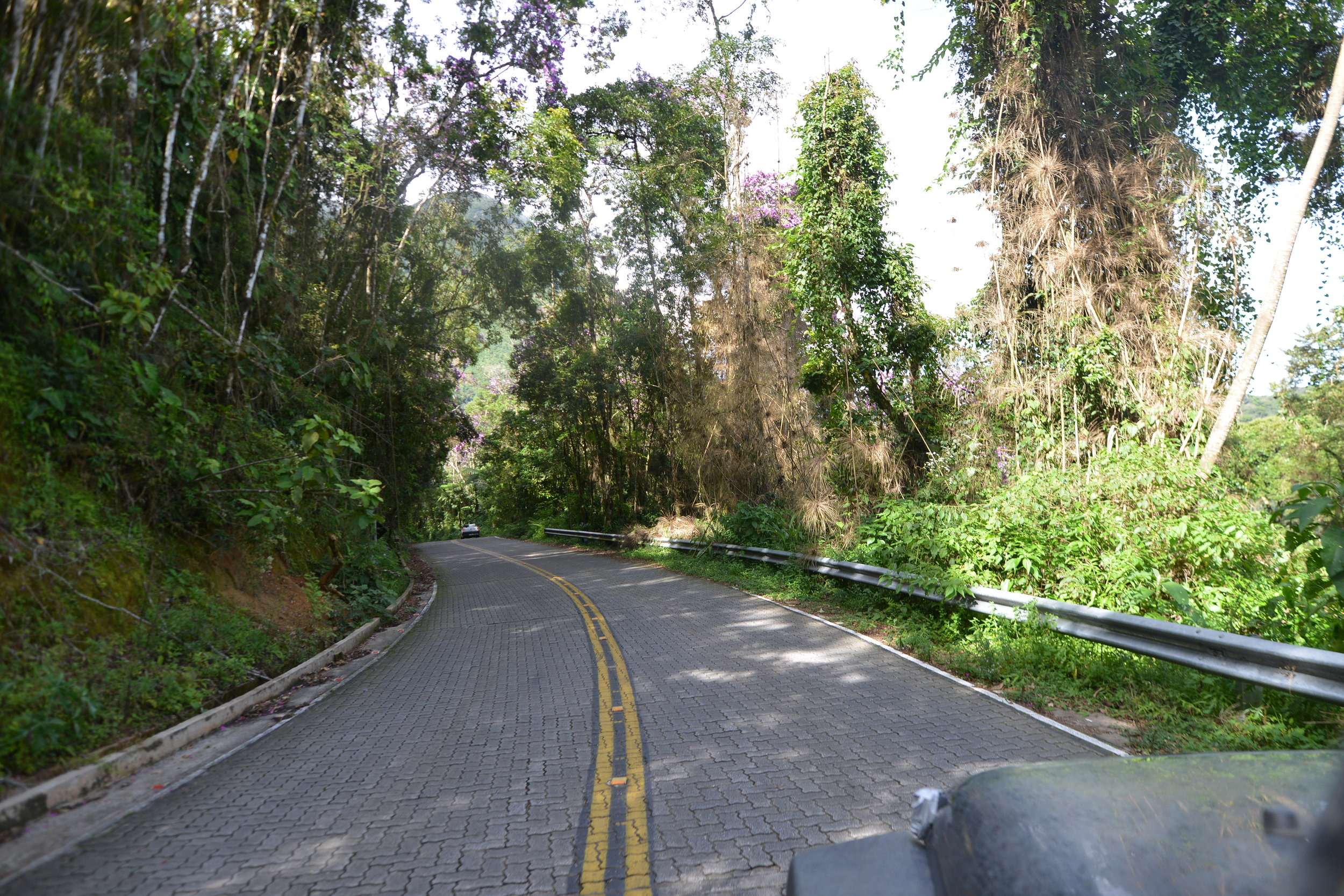 One of the nicest road on Earth: This back road between Guaratingueta in the State of Sao Paulo and Paraty, in the state of Rio de Janeiro.