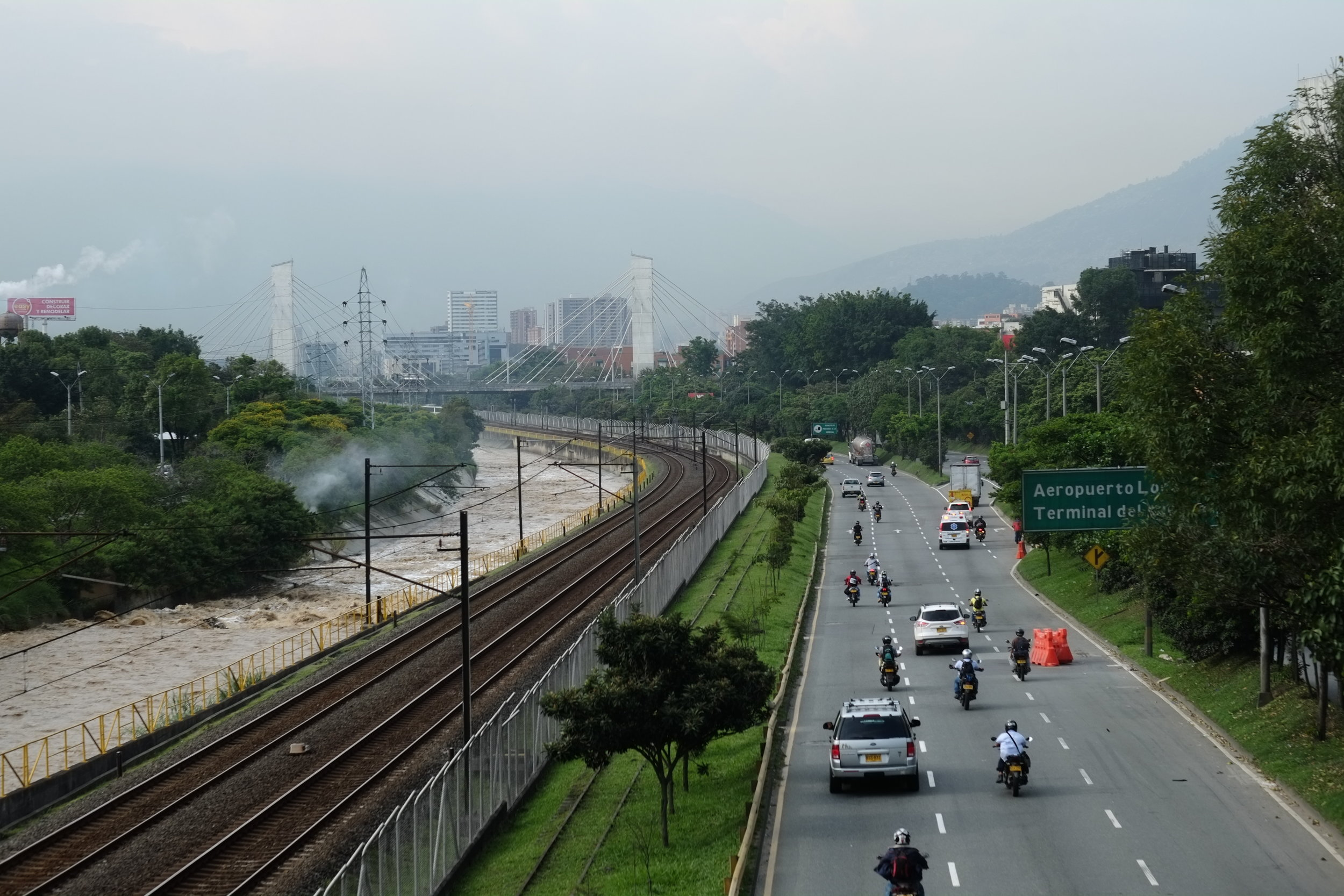 Medellin, Colombia. I stayed here three weeks. I found a hostel with a nice pool…and stayed there an extra 20 days.
