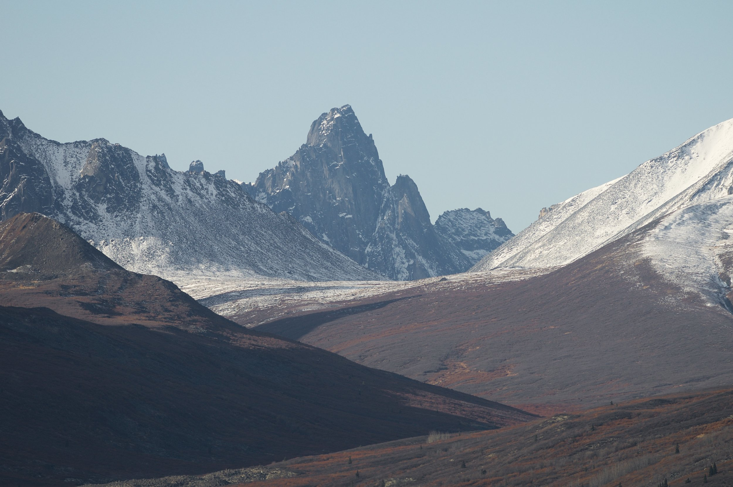 Classic peak in the Tombstone National Park.