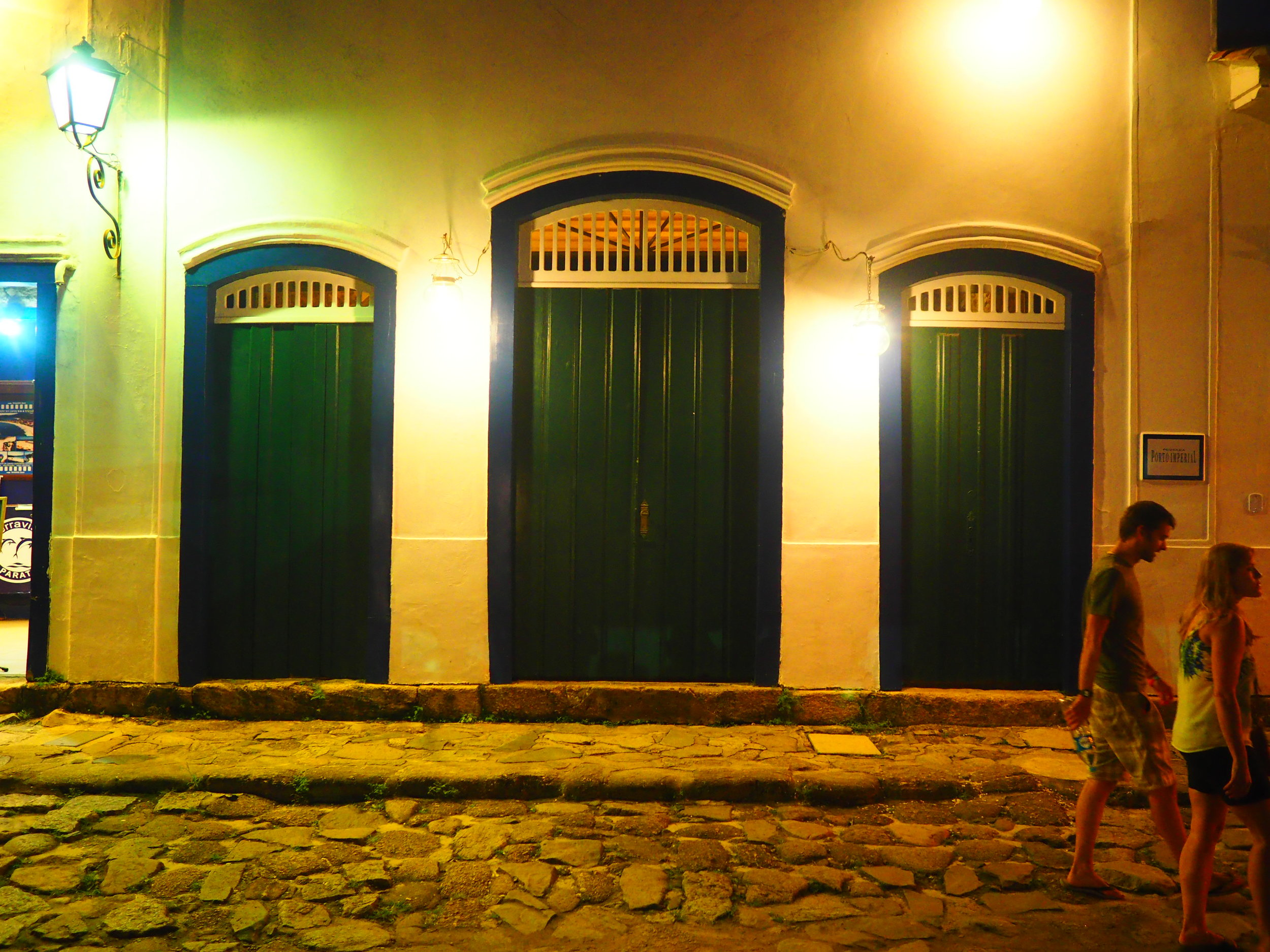 ISO 6400 with the 17mm f/1.8 in Paraty, Brazil