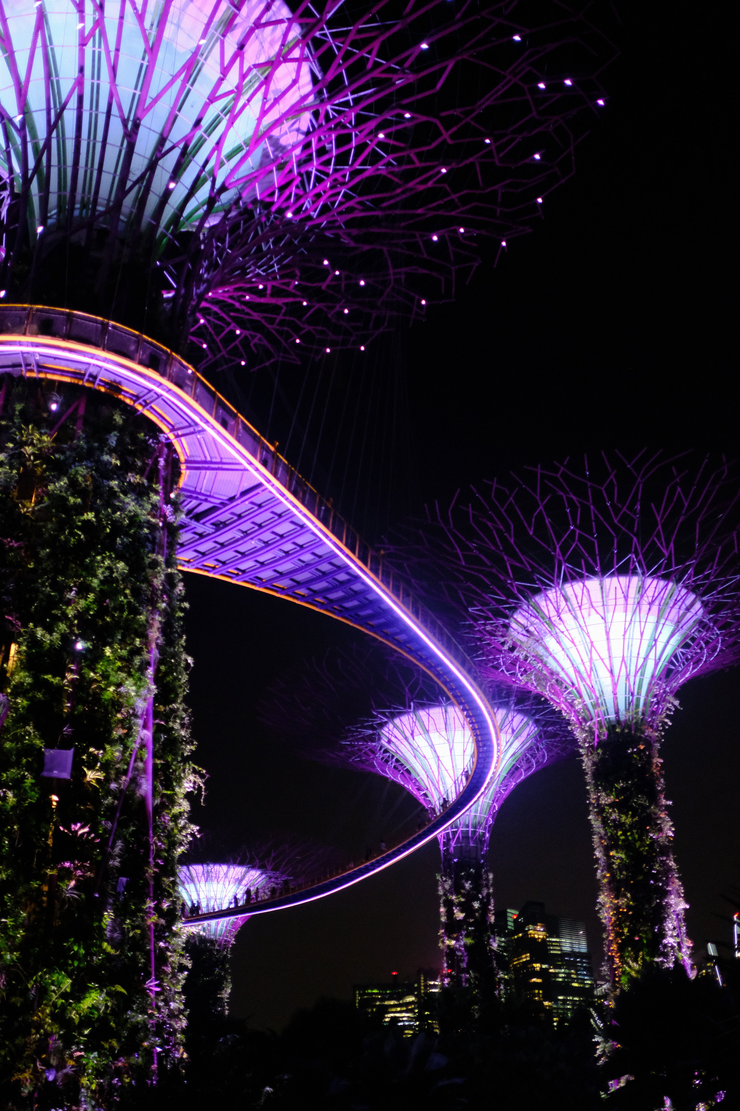 Garden by the Bay in Singapore with the 23mm f/2.0 wide open