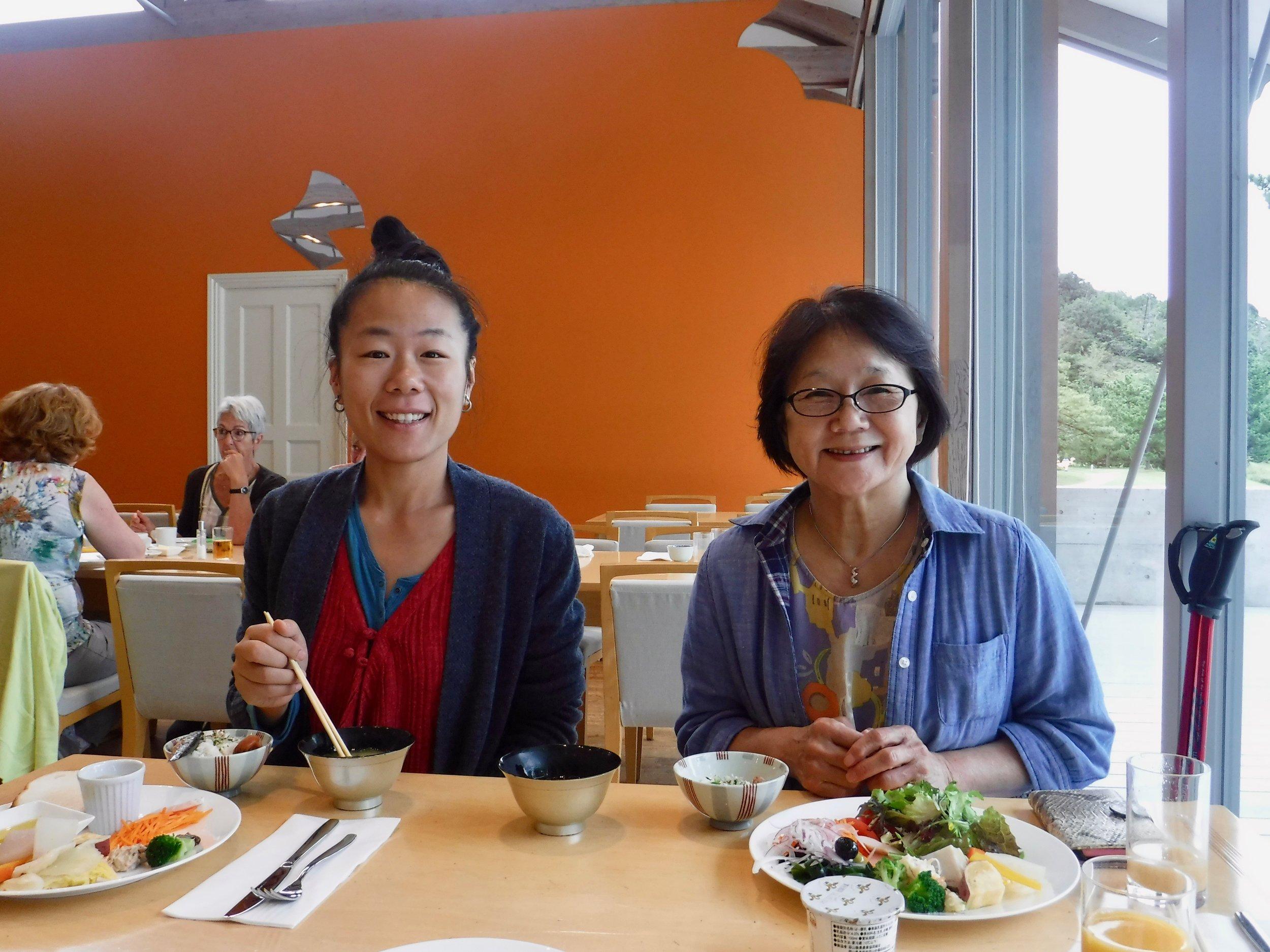 朝食の時が母の笑顔がマックスに。笑。普段作ってもらうことないもんね。