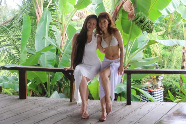 with my dear beautiful dance sister Nashwa
