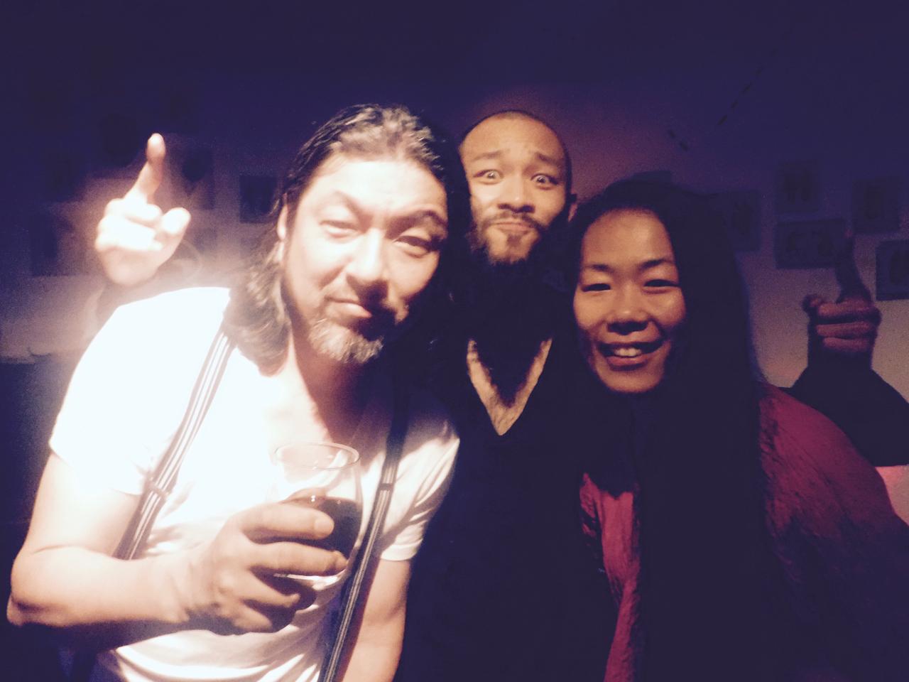 Yama, Hiro,Ping Thank you Yamaさん❤️
