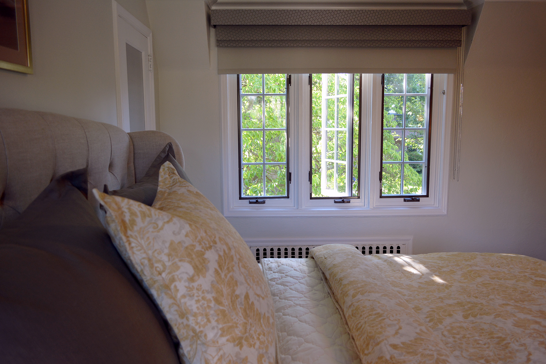 Having windows are great! How a window is treated can either diminish or enhance this magnificent feature. It's one of our favorite aspects to design.