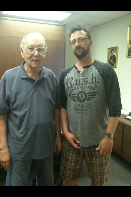 With Zig Kanstul at his Anaheim factory - May 2013