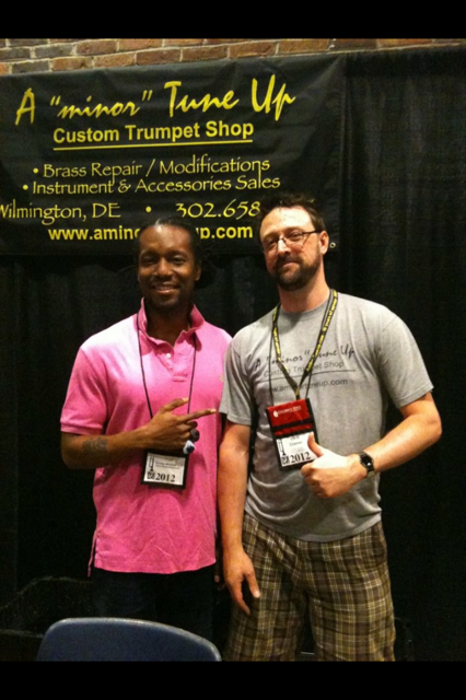 Dontae Winslow stopped by to say hi - ITG 2012