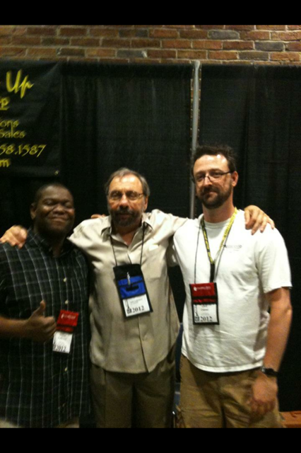 John LaBarbera stopped by the table - ITG 2012