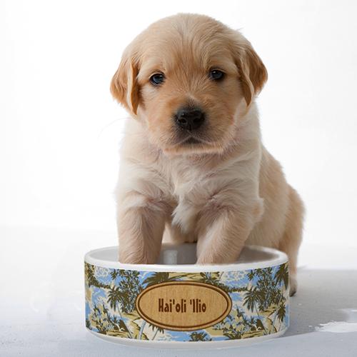 Customizable Pet Bowls