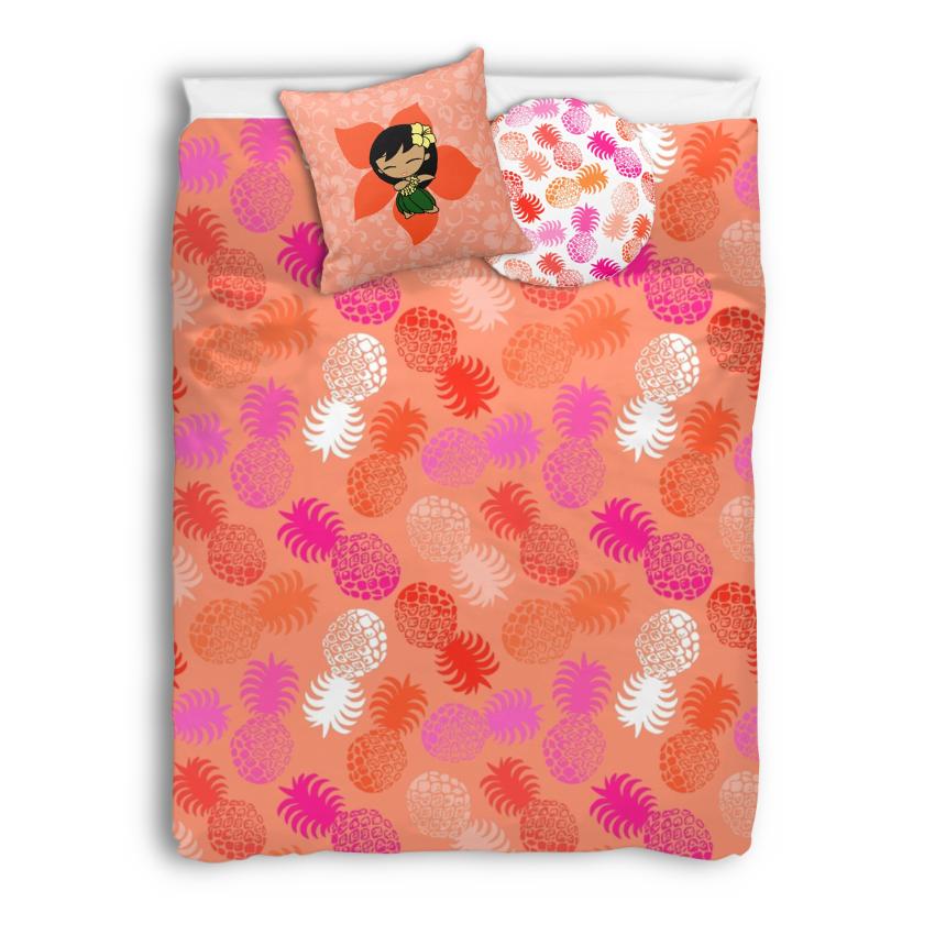 Pineapple Print–Papaya Color Story