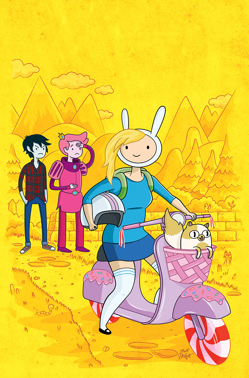 Fionna and Cake Issue 6 cover by Matt Talbot