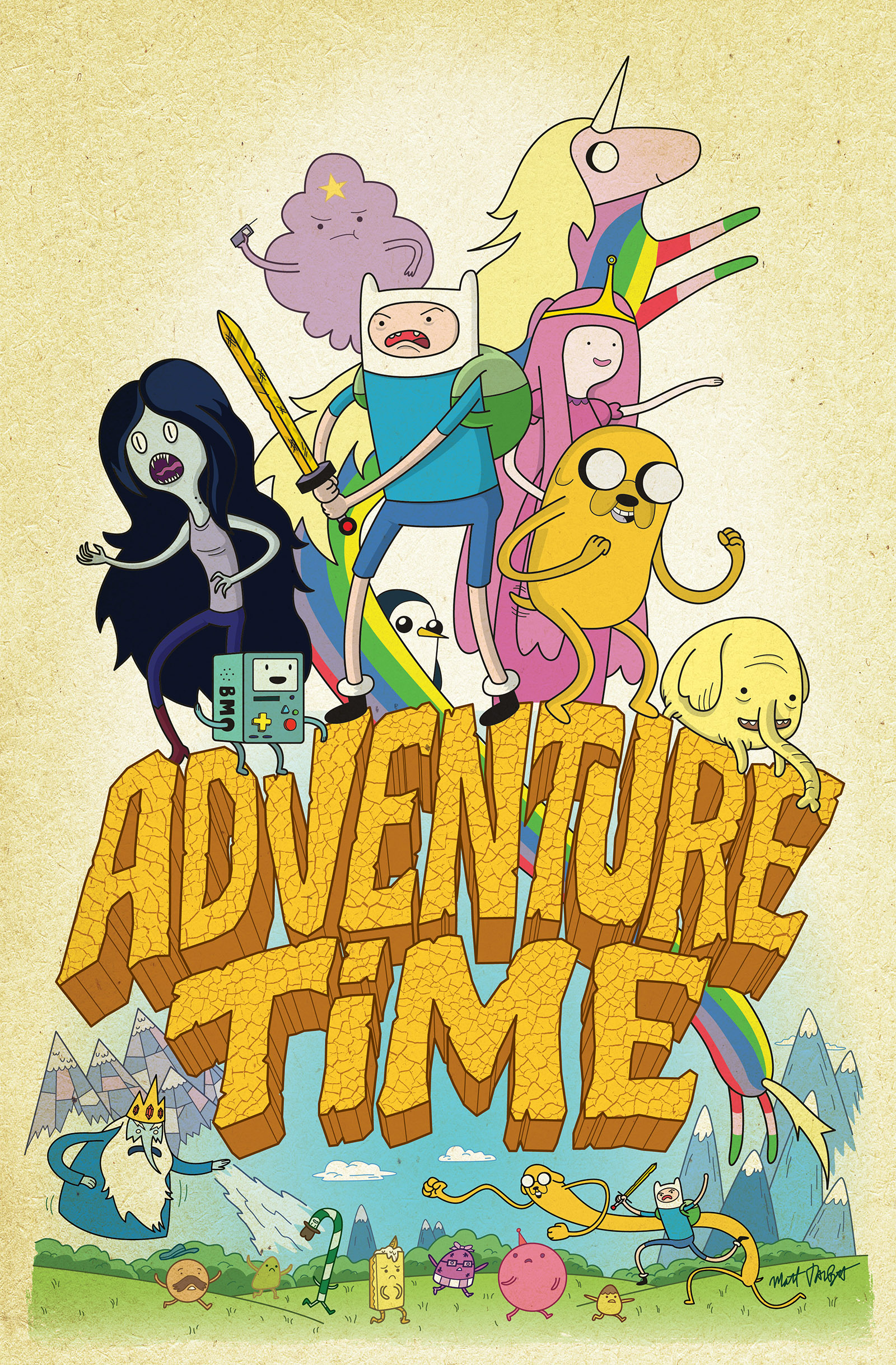 Adventure Time cover by Matt Talbot
