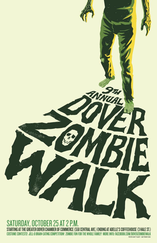 Dover Zombie Walk 2014