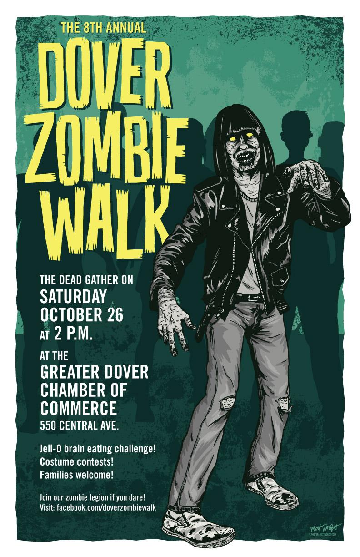 Dover Zombie Walk 2013