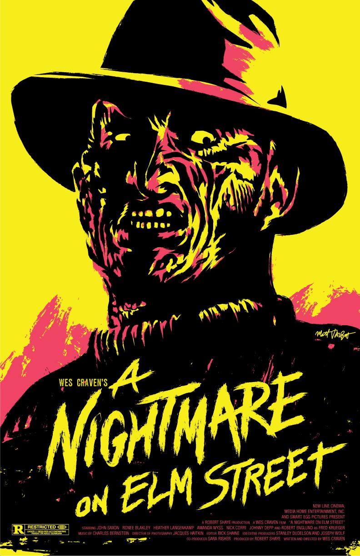 A Nightmare on Elm Street poster by Matt Talbot