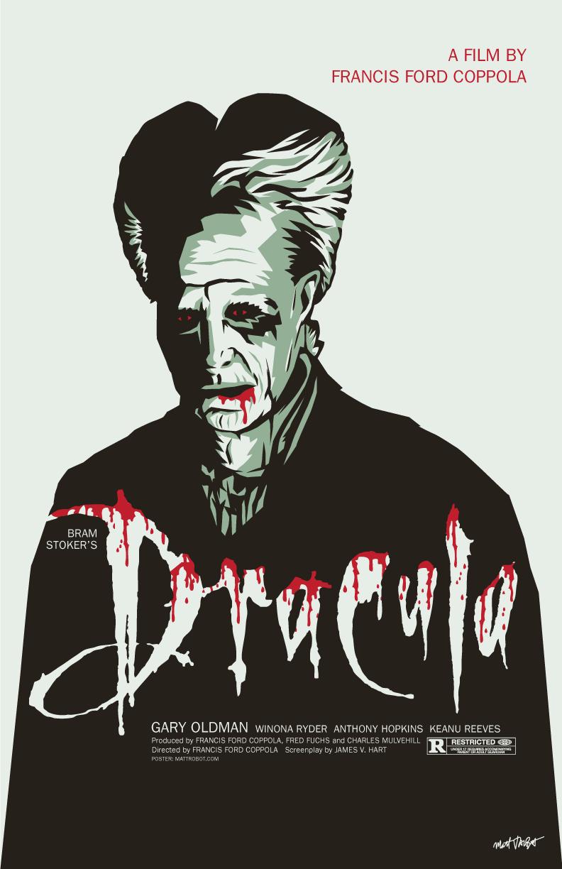 Bram Stoker's Dracula poster by Matt Talbot