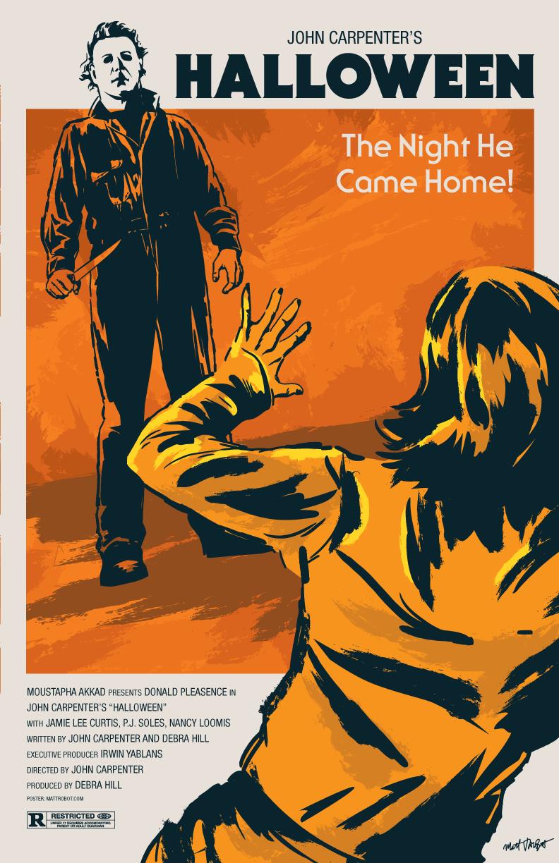Halloween poster by Matt Talbot