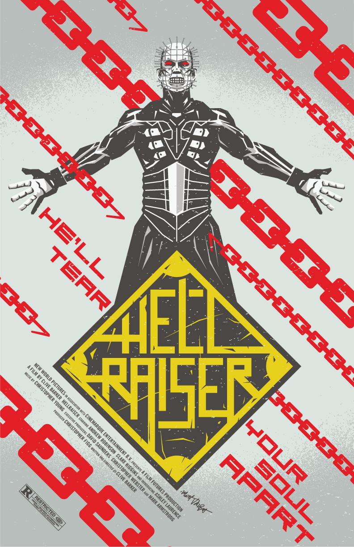 Hellraiser poster by Matt Talbot