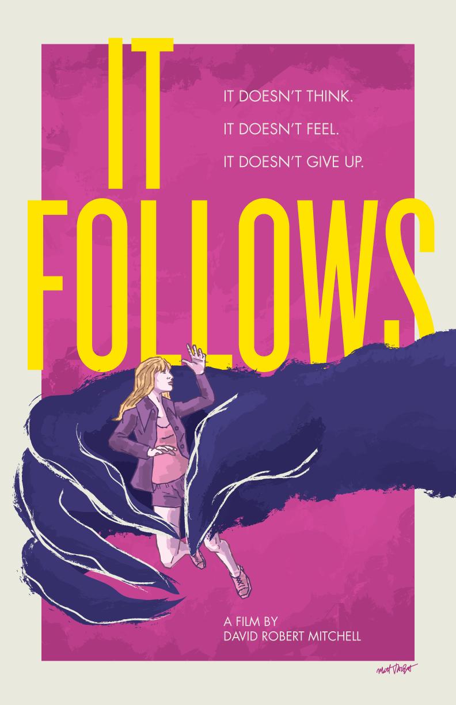 It Follows poster by Matt Talbot
