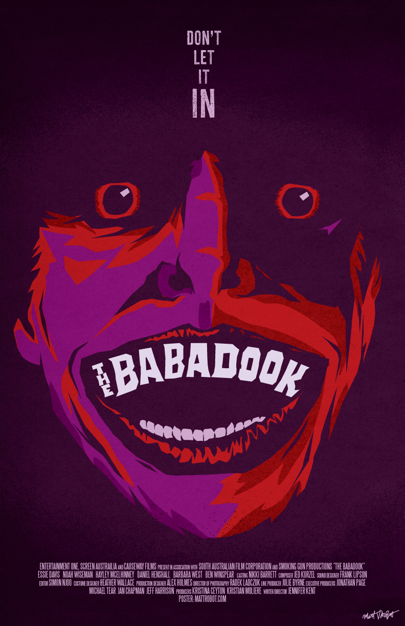 The Babadook poster by Matt Talbot