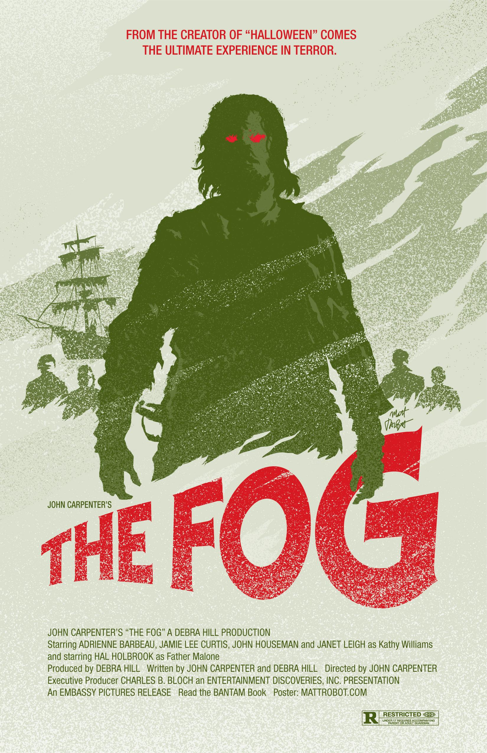 The Fog Poster by Matt Talbot