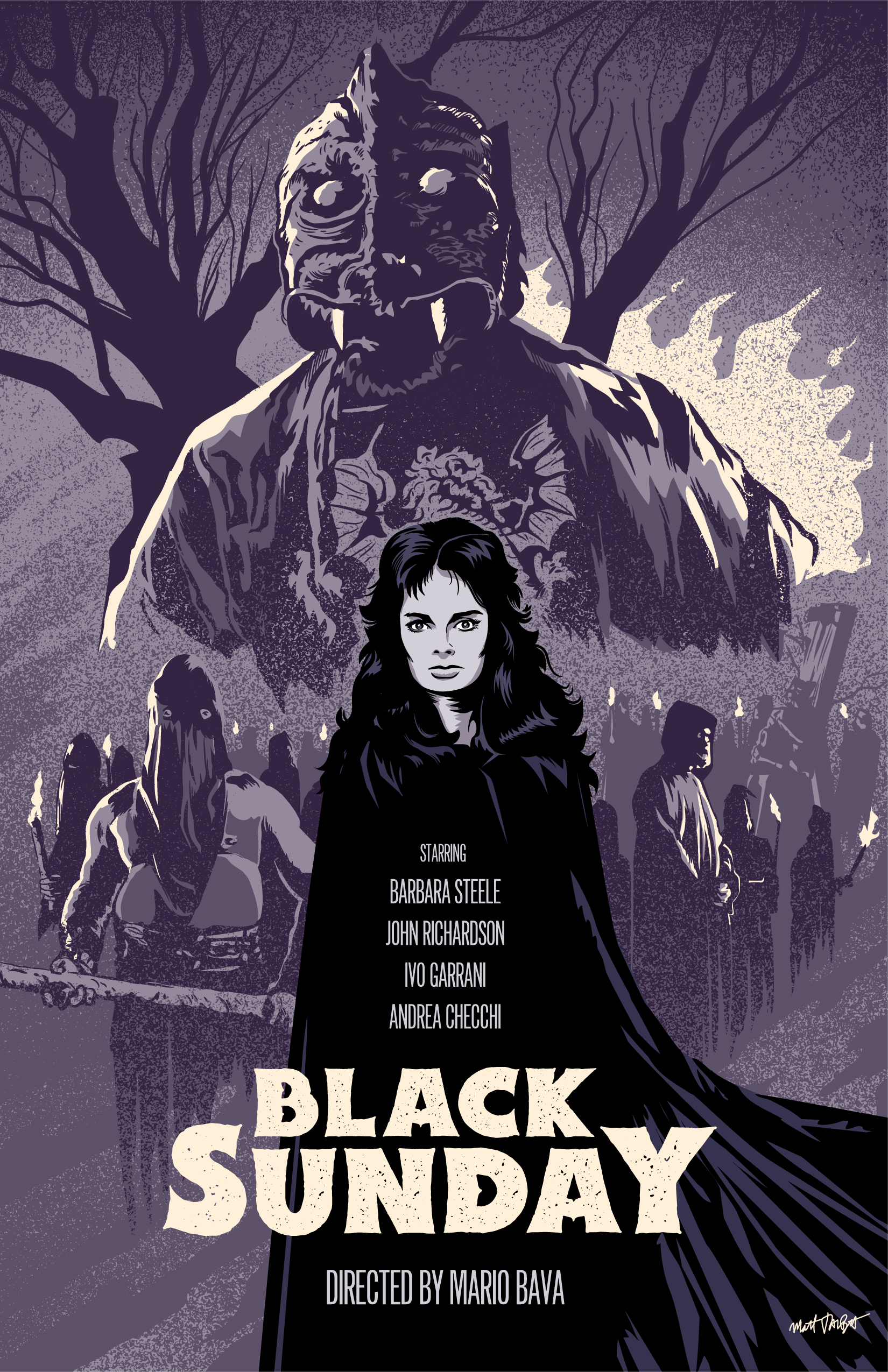Black Sunday Poster by Matt Talbot