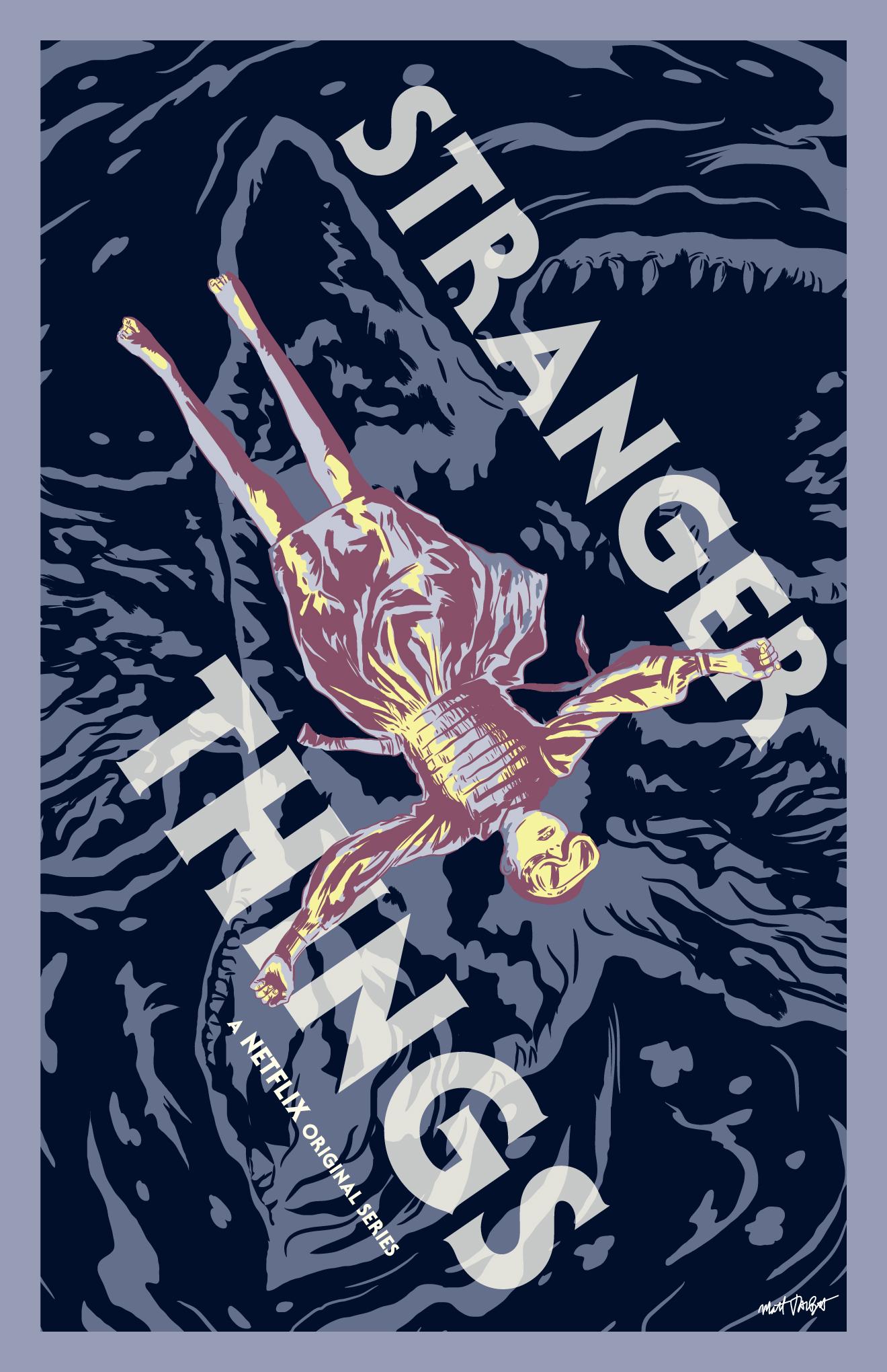 Stranger Things poster by Matt Talbot