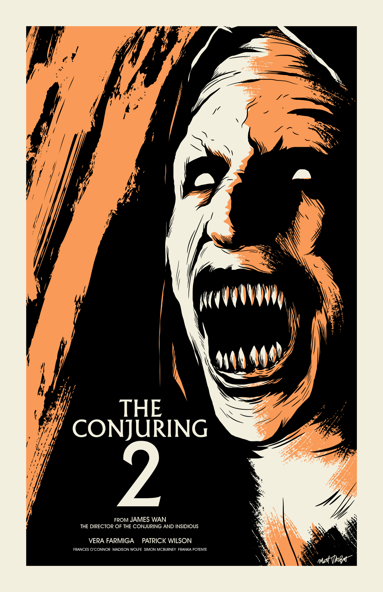 The Conjuring 2 poster by Matt Talbot