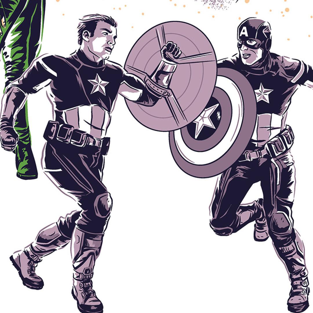 Avengers Endgame poster by Matt Talbot
