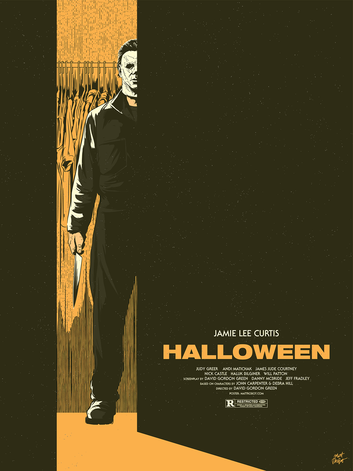 Halloween 2018 Fan Poster.Alternate Movie Posters Mattrobot Com