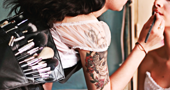 #Makeup #MakeupTattoos #Tattoos #YourBody Photo:Domina Imagina